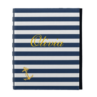 Nautical Chic iPad Case