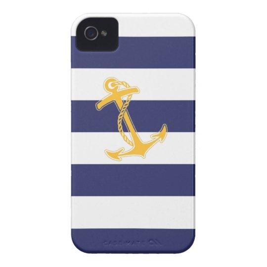Nautical Chic iPhone 4 Case