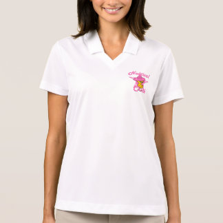 Nautical Chick #8 Polo Shirt