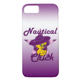 Nautical Chick #9 iPhone 8/7 Case