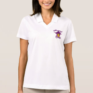 Nautical Chick #9 Polo Shirt