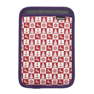 Nautical Christmas iPad Mini Sleeve