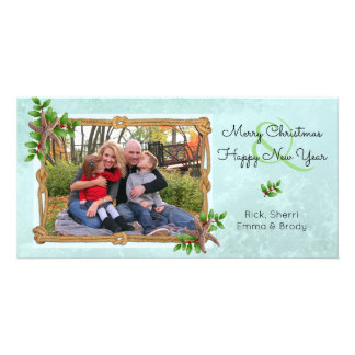 Nautical Christmas on the Coast Starfish Splash Card
