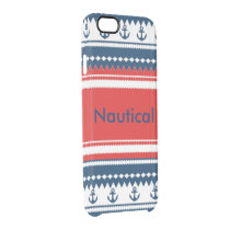 Nautical Clear iPhone 6/6S Case