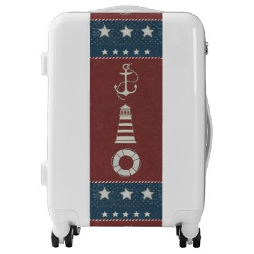 USA Themed Nautical Collage 1 Luggage
