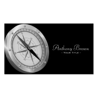 Nautical Compass Business Card