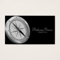 Nautical Compass Business Card