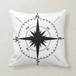 Nautical Compass Pillow