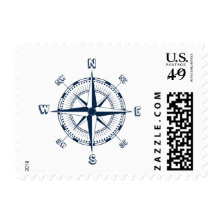 Nautical Compass Postage