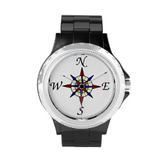 Nautical Compass Wrist Watch