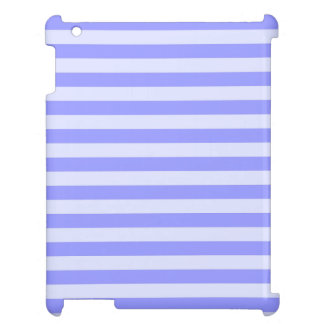 Nautical Conflower Blue and Pastel Blue Stripes Case For The iPad 2 3 4