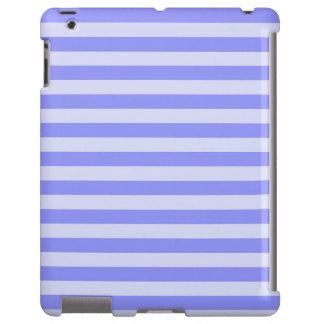 Nautical Cornflower Blue and Pastel Blue Stripes