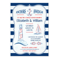 Nautical Couples Shower Invitation