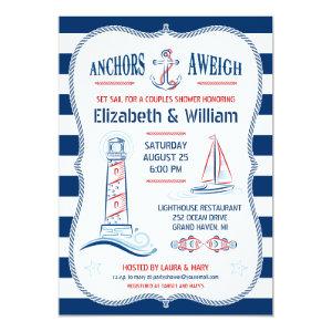 Nautical Couples Shower Invitation 5