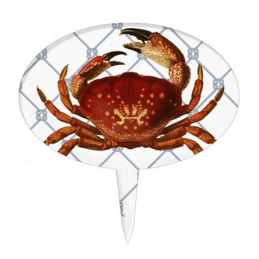 Nautical Crab Cake Topper