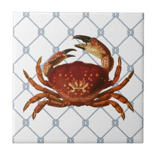 Nautical Crab Tiles