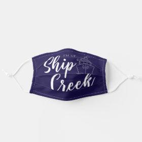 Nautical Cruise Ship Cloth Face Mask