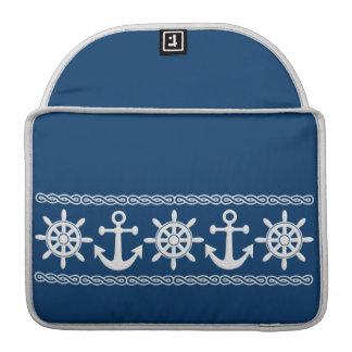 Nautical custom MacBook sleeve Sleeve For MacBook Pro