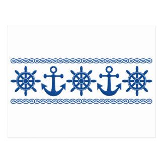 Nautical custom postcard