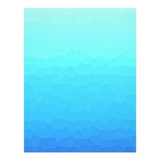 Nautical decor - Deep Waters Letterhead