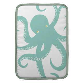 Nautical Deep Sea Octopus Creature Illustration MacBook Air Sleeves
