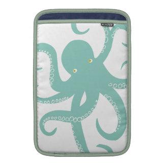 Nautical Deep Sea Octopus Creature Illustration MacBook Air Sleeve
