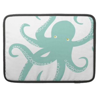 Nautical Deep Sea Octopus Creature Illustration MacBook Pro Sleeve