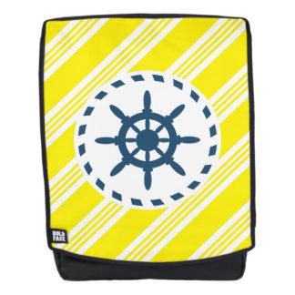 Nautical design backpack