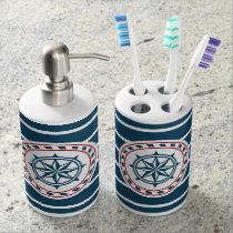 Nautical design bath set