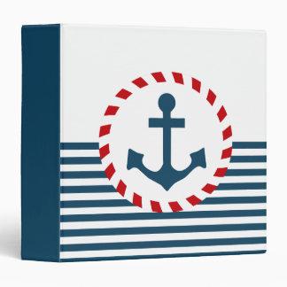 Nautical design binder