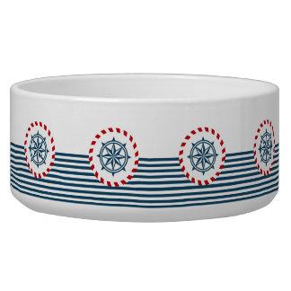 Nautical design bowl