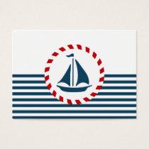 Nautical design business card