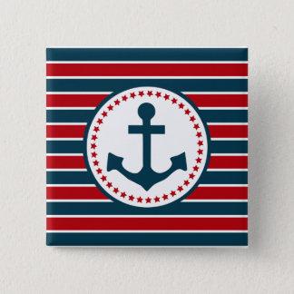 Nautical design button