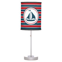Nautical design desk lamp