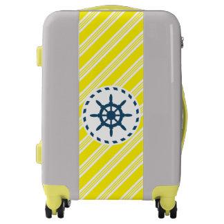 Nautical design luggage