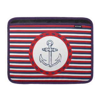 Nautical design MacBook sleeves