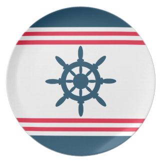 Nautical design plates