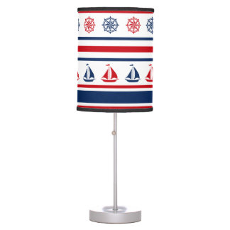 Nautical design table lamp