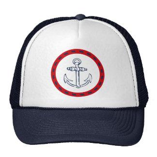 Nautical design trucker hat
