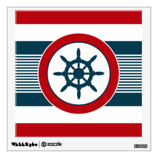 Nautical design wall decal