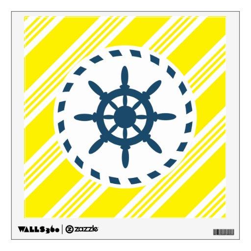 nautical design wall sticker zazzle