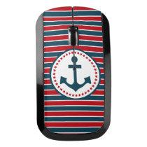 Nautical design wireless mouse