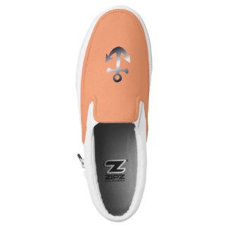 nautical desing Slip-On sneakers
