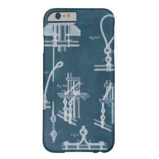 Nautical Detail Blueprint IV Barely There iPhone 6 Case