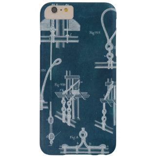 Nautical Detail Blueprint IV Barely There iPhone 6 Plus Case