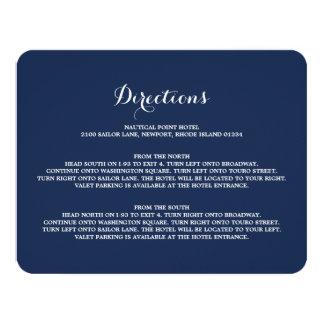 Nautical   Directions Enclosure Card