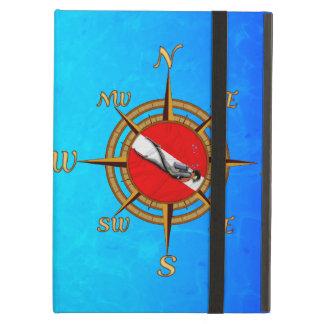 Nautical Dive Compass iPad Air Cases