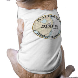 Nautical Dog Nautical Jupiter Florida Tee