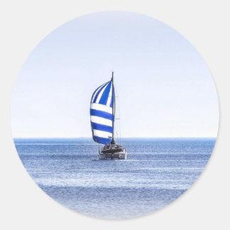 Nautical Dreams Round Sticker