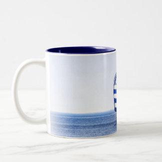 Nautical Dreams Two-Tone Coffee Mug